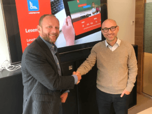 From the left: Sondre Skaug Bjørnebekk–Chairman and Technical Manager together with Roald Brekkhus, investor in BAN. Photo: Rune Vindenes